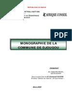 Monographie de La Commune de Djougou