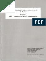 Analisi Del Retard Del Llenguatge