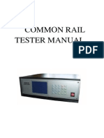 Common Rail Tester Manual