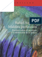 Argullol, Rafael - Maldita Perfeccion