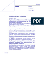 Draft resolution in blue