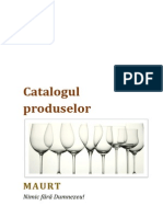 Catalogul produselor