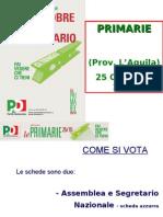 Primarie_PD_25/10/09