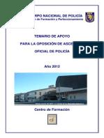 Temario Ascenso Oficial Policia 2012