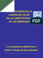 Importancia de La Cadena de Valor -Ventaja Competitiva[1]