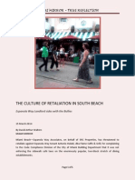 The Culture of Retaliation in South Beach