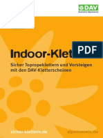 Klettern Indoor