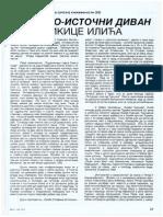 Zapadno-istocni divan Mikice Ilica - Dr Vasa Mihailovic