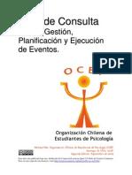 Guía de Consulta para la Gestión, Planificación y Ejecución  de Eventos.