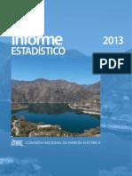 Informe Estadístico 2013 Comisión Nacional de la Energía Eléctrica Guatemala