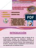 Diapositivas de Aleaciones