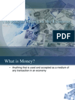 Lecture 4 - The Role of Money in the Economy v2