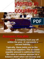 Engleza Accounting Terms