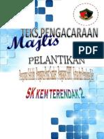 Majlis Watikah Pelantikan Pengawas