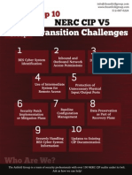 Top 10 NERC CIP Transition Challenges
