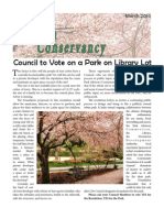Council to Vote on a Park on Library Lot