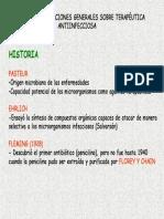 Tema 40. General antibióticos