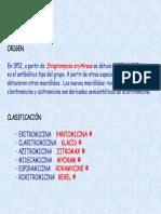 Tema 43. Macrólidos,  lincosamidas y glucopéptidos
