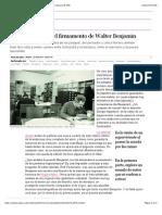 Las catacumbas y el firmamento de Walter Benjamin | Cultura | EL PAÍS