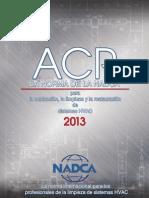 NADCA 13 ACRbooklet Spanish Complete