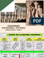 U1. Arte Románico y Gótico2013-2