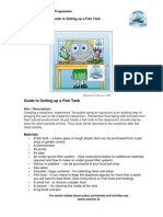 Guide to Setting Up a Fish Tank