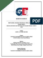 Kertas Kerja Program Bengkel Bahas Negeri Perak - IPG Kampus Ipoh 2014