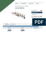 Barramento de Fase Bifásico Tigre - 12 Disjuntores Din