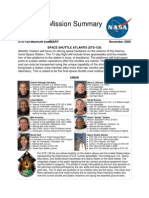 NASA STS-129 Planned Mission Summary