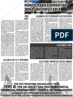 Suplemento N°1 TESIS XI Elecciones Universitarias 2014