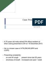 Case Presentation Medicine