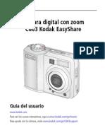 Manual Kodak EasyShare C663 GLB