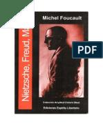Michel Foucault Obras Para Download Foucault m Nietzsche Freud e Marx