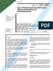 NBR 13802 (Abr 1997) - Água - Determinação de selênio pelo método colorimétrico da diaminobenzidina