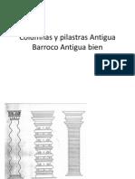 Columnas y Pilastras Antigua Barroco Antigua Bien