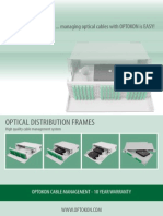Optical Distribution Frames