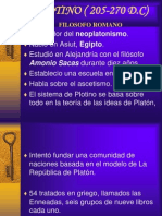 PLOTINO ( 205-270 D