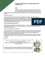 Impuestos Vigentes en Guatemala y Forma de Calculo