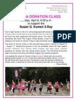 Yin Yoga Donation Class Poster 2