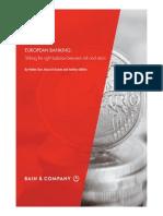 Bain & Co- European Banking Report