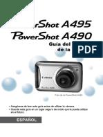 Manual Canon A490 A495