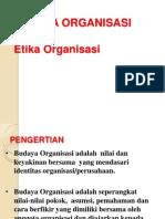 Etika Organisasi