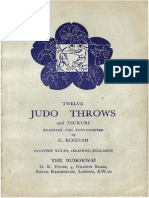 12 judo throws and tsukuri