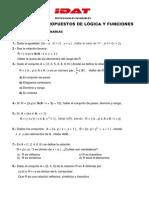 Ejercicios Propuestos de Logica y Funciones - Relaciones y Funciones - 2014-i