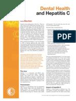 Dental and Hepatitis C