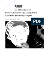 Would You Feel Differently About Snowden