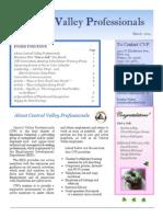 CVP Newsletter Mar 2014