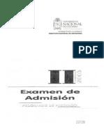 Examenes de Admision Unal TODOS