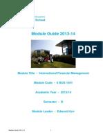 UndergUndergraduate Module guide 2013-14raduate Module Guide 2013-14