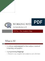 Analytics Edge Week1_IntroductionR_Video1